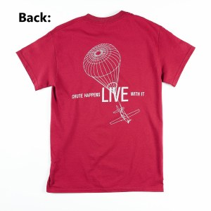 Adult Chute Tee Red S