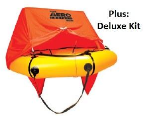 AeroCom 4P Raft w/Can DeluxKit