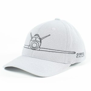 Cap w/Aircraft Flexfit Gry