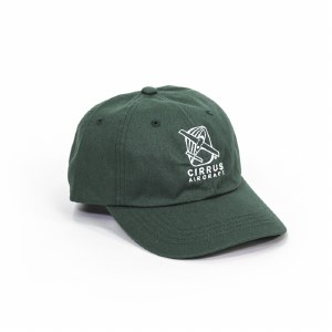 Cotton Twill Cap Green