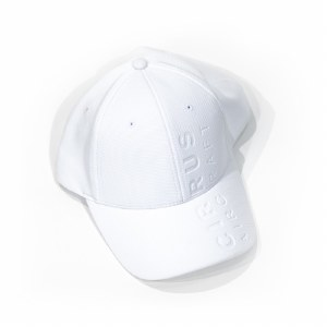 Debossed Cap White