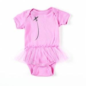 Infant Onesie Tutu Pink 6M
