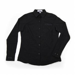 Ladies Black Dress Shirt XS