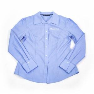 Ladies CB Dress Shirt Blue XS