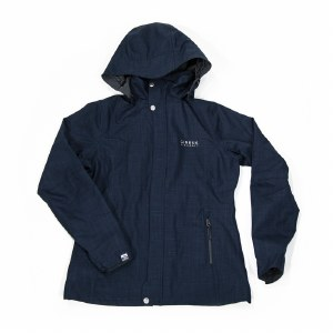 Ladies Cross Hatch Rain JKT XS