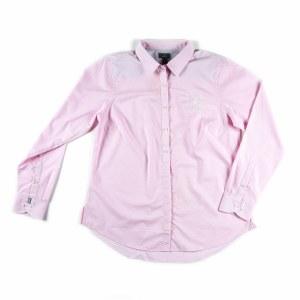 Ladies Dot Dress Shirt XS