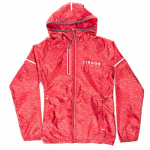 Ladies' Packable Rain Red XS