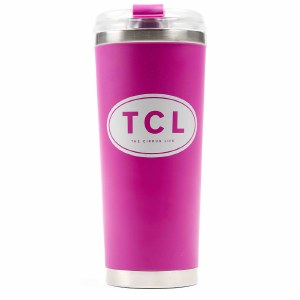 Large Insulated Beverage Pink
