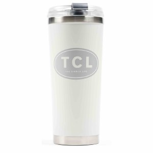 Large Insulated Beverage White