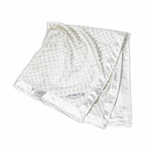 Luxury Baby Blanket White
