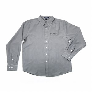 Mens Check Dress Shirt GY S