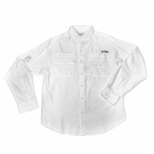 Mens Columbia Outdoor White L