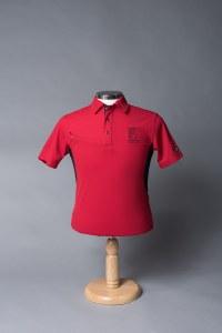 Mens Ogio Pocket Polo Red S