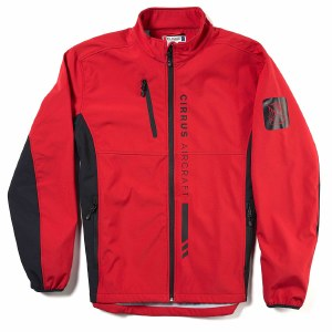 Mens Race Theme Jacket Red S