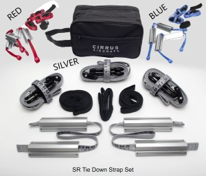 SR Chock and Tiedown Kit Silve