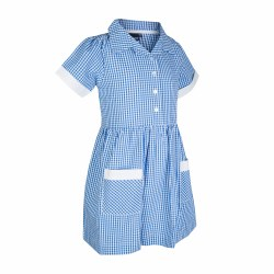 DUCKS SUMMER DRESS CHECKED 3/4