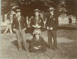 POSTCARD BOYS 1894