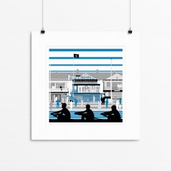 BOAT CLUB PRINT SMALL