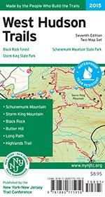 West Hudson Trails Map Set -2015