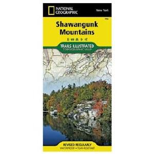 Trails Illustrated Shawangunk Mountains