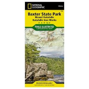 Trails Illustrated: Baxter State Park