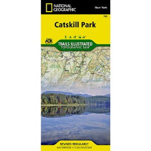 Trails Illustrated: Catskill Park
