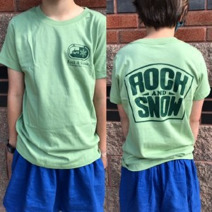 Rock and Snow Kids Logo T