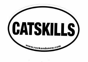 Catskills Euro Sticker