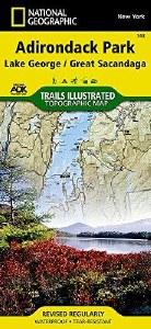 Trails Illustrated: Adirondack Park-Lake George/Great Sacandago