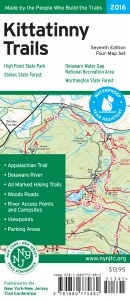 Kittatinny Trails Map Set -2016