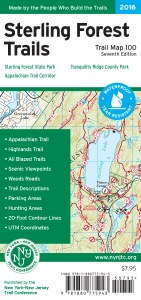 Sterling Forest Trails Map Set - 2016
