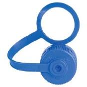Narrow Mouth Loop-Top Lid Blue
