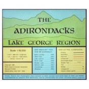 Adirondack Map Lake George Region