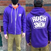 Rock & Snow Logo Zip Hoodie