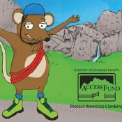 Squeak Goes Climbing in Yosemite National Park