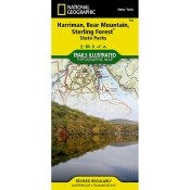 Trails Illustrated: Harriman, Bear Mountain, Sterling Forest State Parks