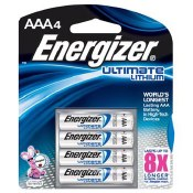 Ultimate Lithium AAA 4-Pack