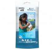 Bath Wipes-Travel Size, Package of 8