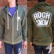 Rock & Snow Logo Zip Hoody