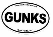 Rock and Snow Gunks Euro Sticker