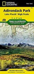 Trails Illustrated: Adirondack Park-Lake Placid/High Peaks