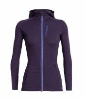 Quantum Long Sleeve Zip Hood - Women's