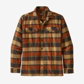 Long-Sleeved Fjord Flannel Shirt - Men's