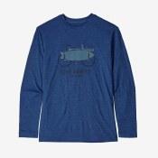 Boys' Long-Sleeved Capilene Cool Daily T-Shirt