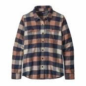 Long-Sleeved Fjord Flannel Shirt - Women's