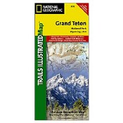 National Geographic Trails Illustrated Map: Grand Teton National Park