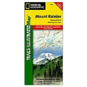 National Geographic Trails Illustrated Map: Mt Rainier