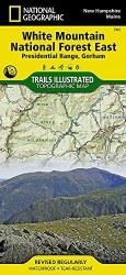 Trails Illustrated: White Mountain National Forestr East-Presidential Range, Gorham