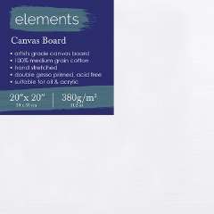 """Elements Canvas Board 20"""" x 20"""""""