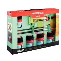 Amsterdam All Acrylics Glass Starter Set